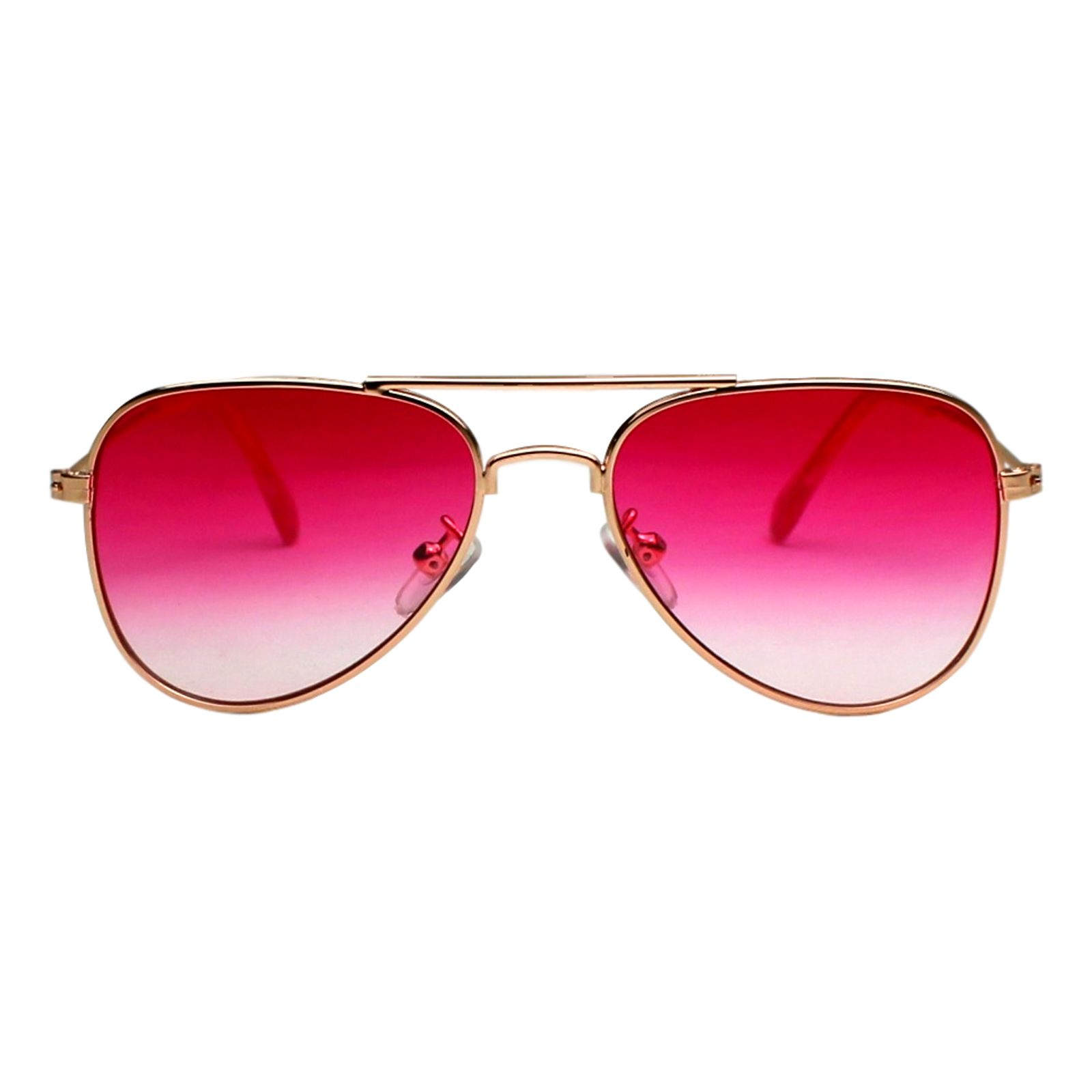 Óculos de Sol Díspar ID1902 infantil idade 3 a 6 anos - Rosa Transparente