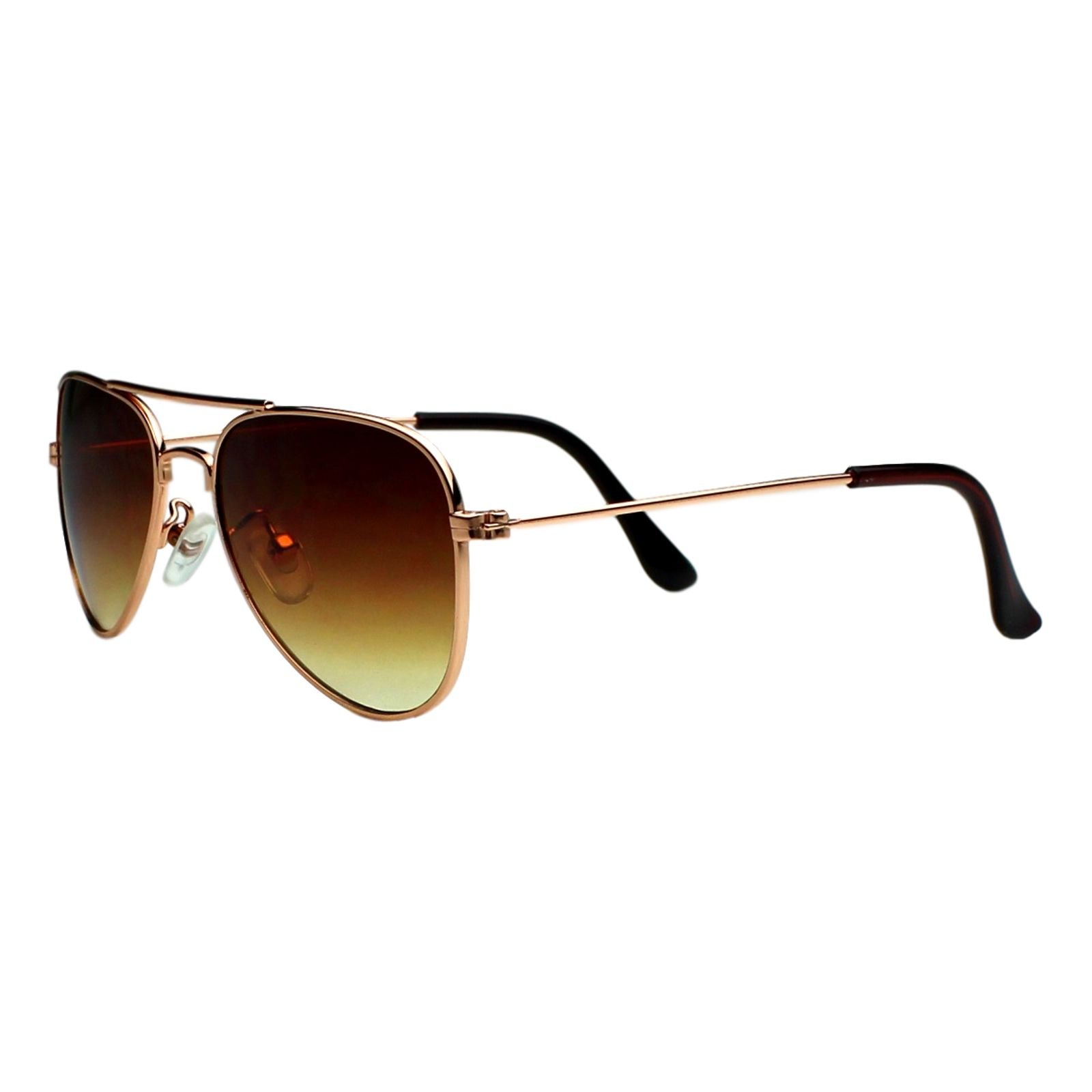 Óculos de Sol Díspar ID1902 infantil Aviador idade 3 a 6 anos Dourado