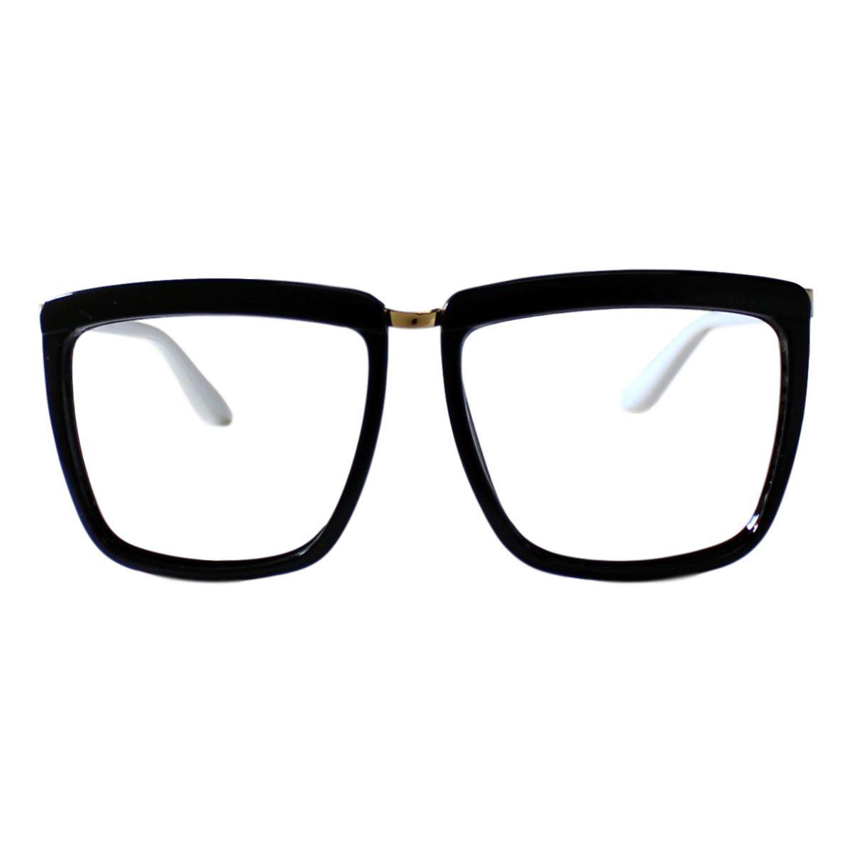 Armação para Óculos Díspar D1950 - Preto Branco