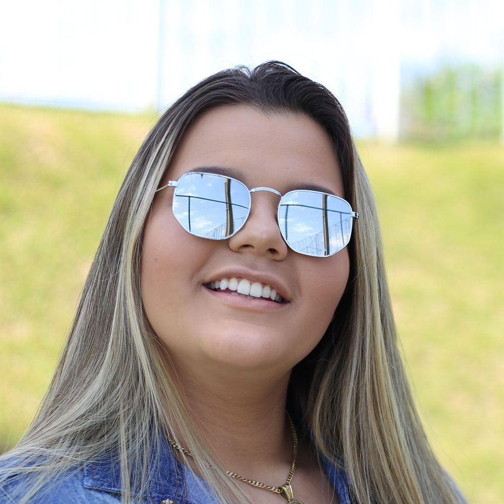 Óculos De Sol Díspar D1625 Prata - Prata