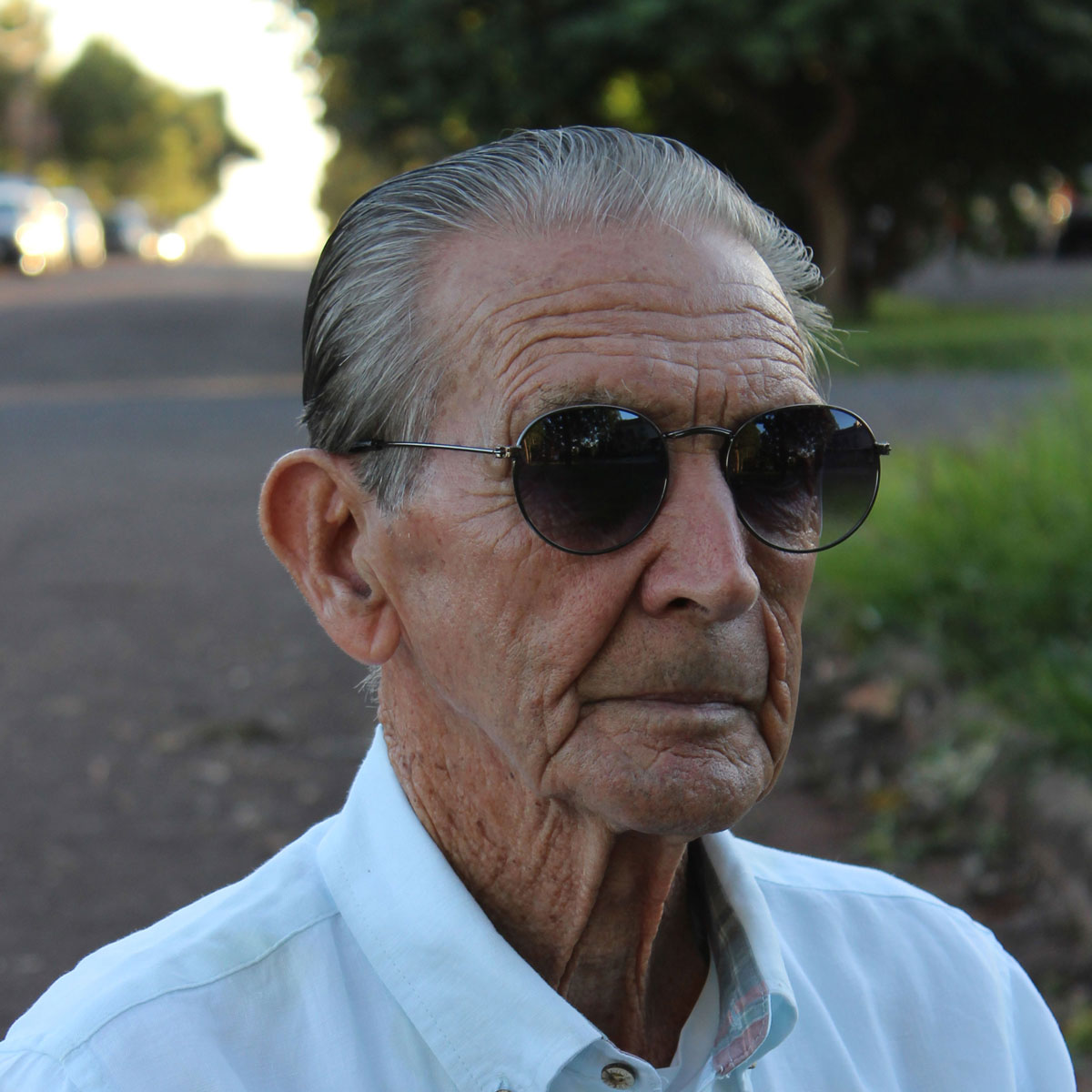 Óculos De Sol Díspar D1626 Redondo Chumbo
