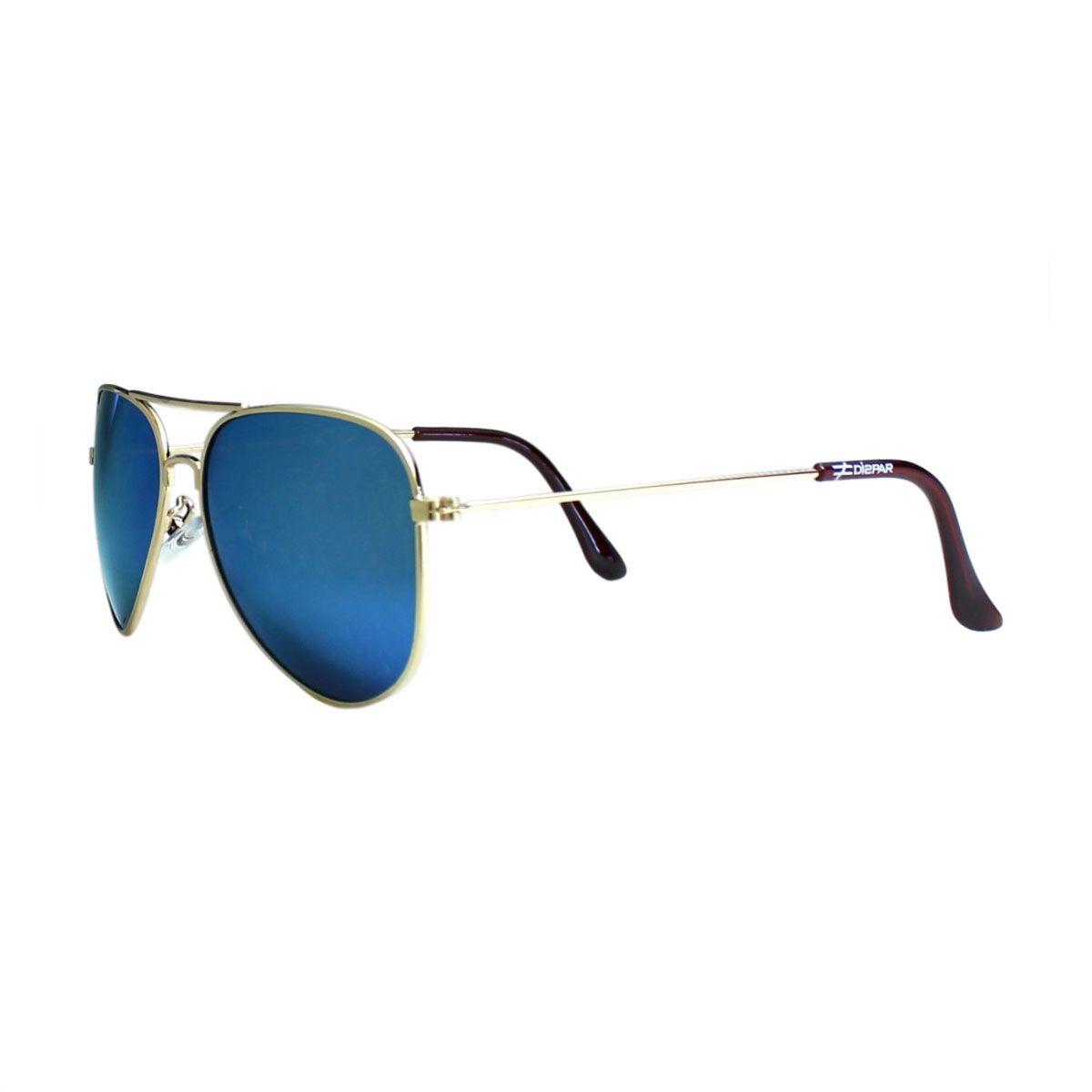 Óculos De Sol Díspar D1629 Azul Espelhado