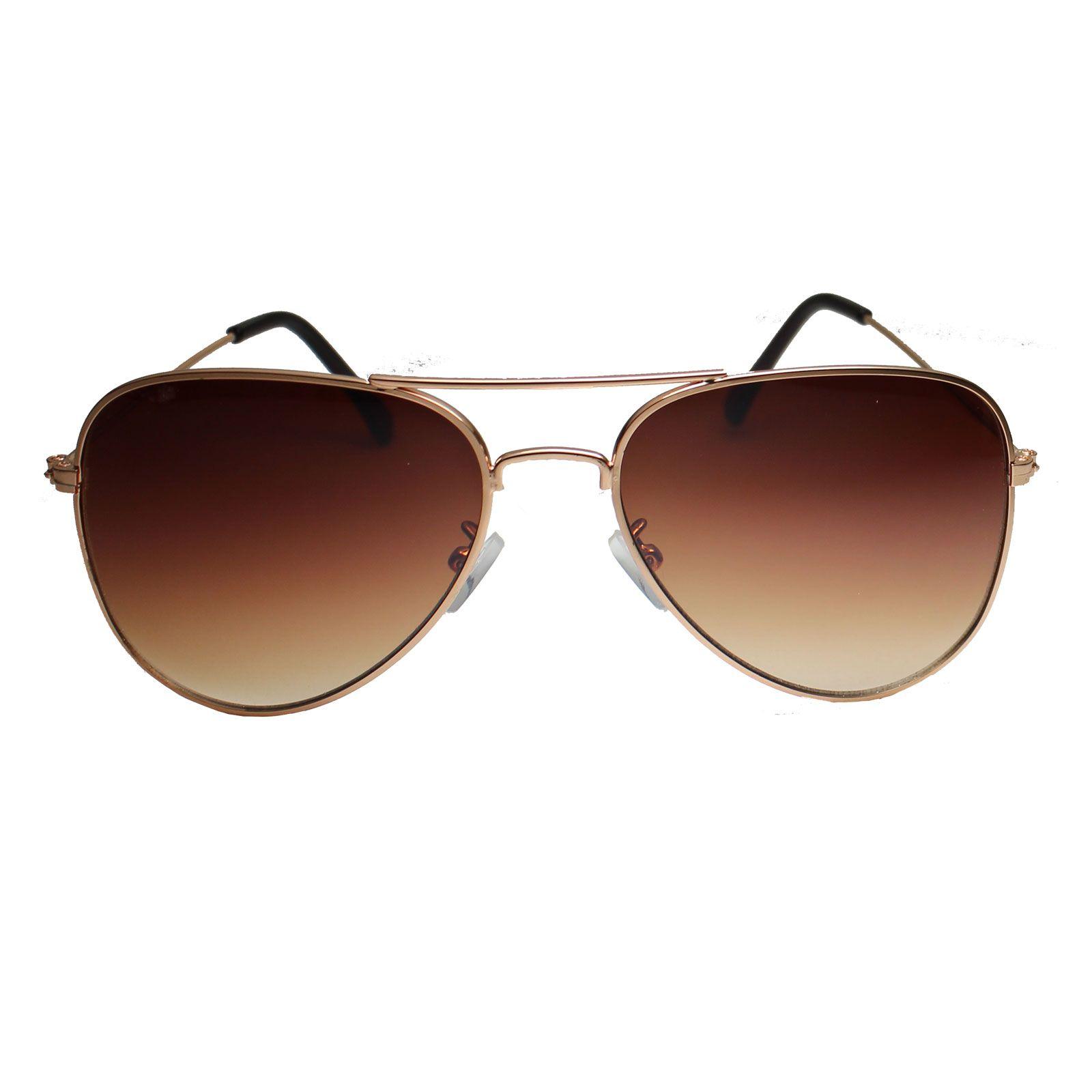 Óculos De Sol Díspar D1629 Aviador Proteção Total UV400 Dourado