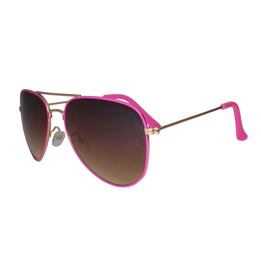 Óculos De Sol Díspar D1629 Aviador Rosa