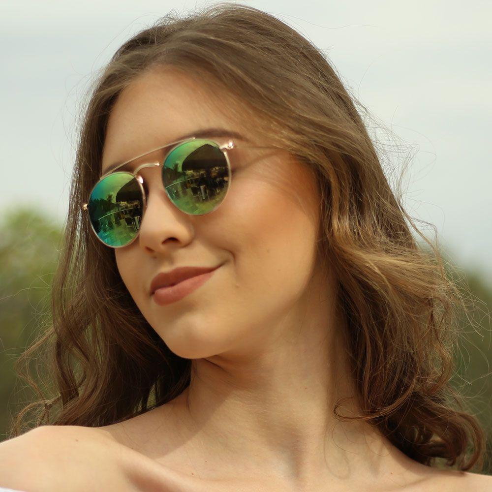 Óculos De Sol Díspar D1630 Furta-cor