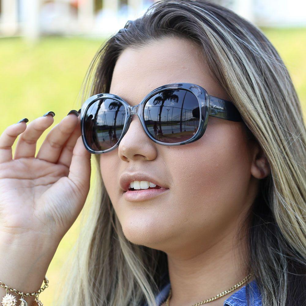 Óculos De Sol Díspar D1662 Chumbo