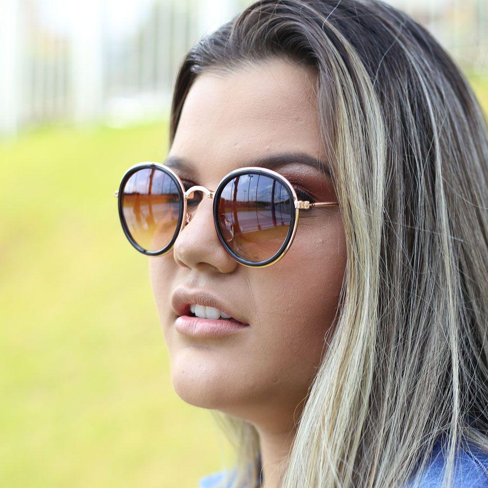 Óculos De Sol Díspar D1840 - Marrom