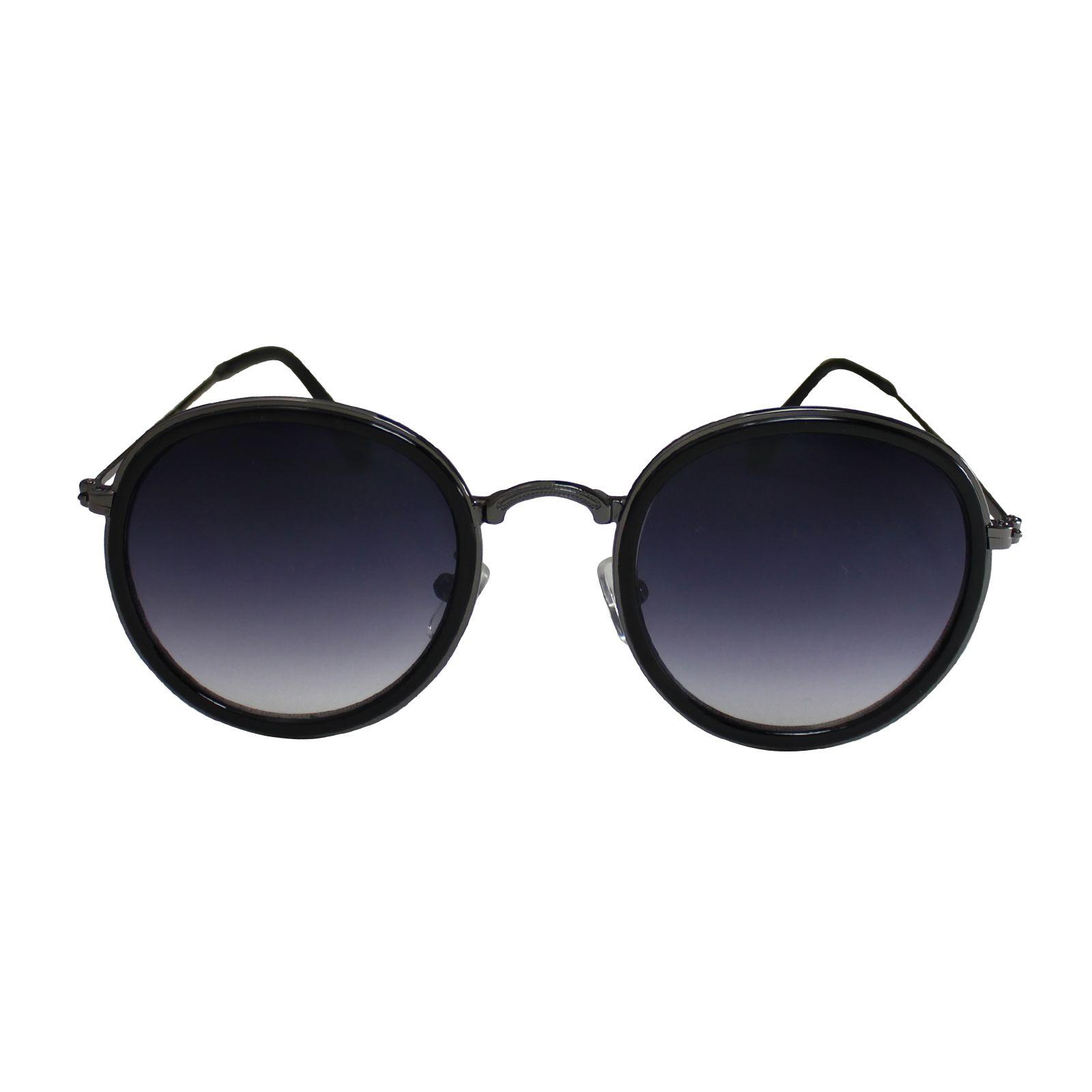 Óculos De Sol Díspar  D1840 Redondo Preto