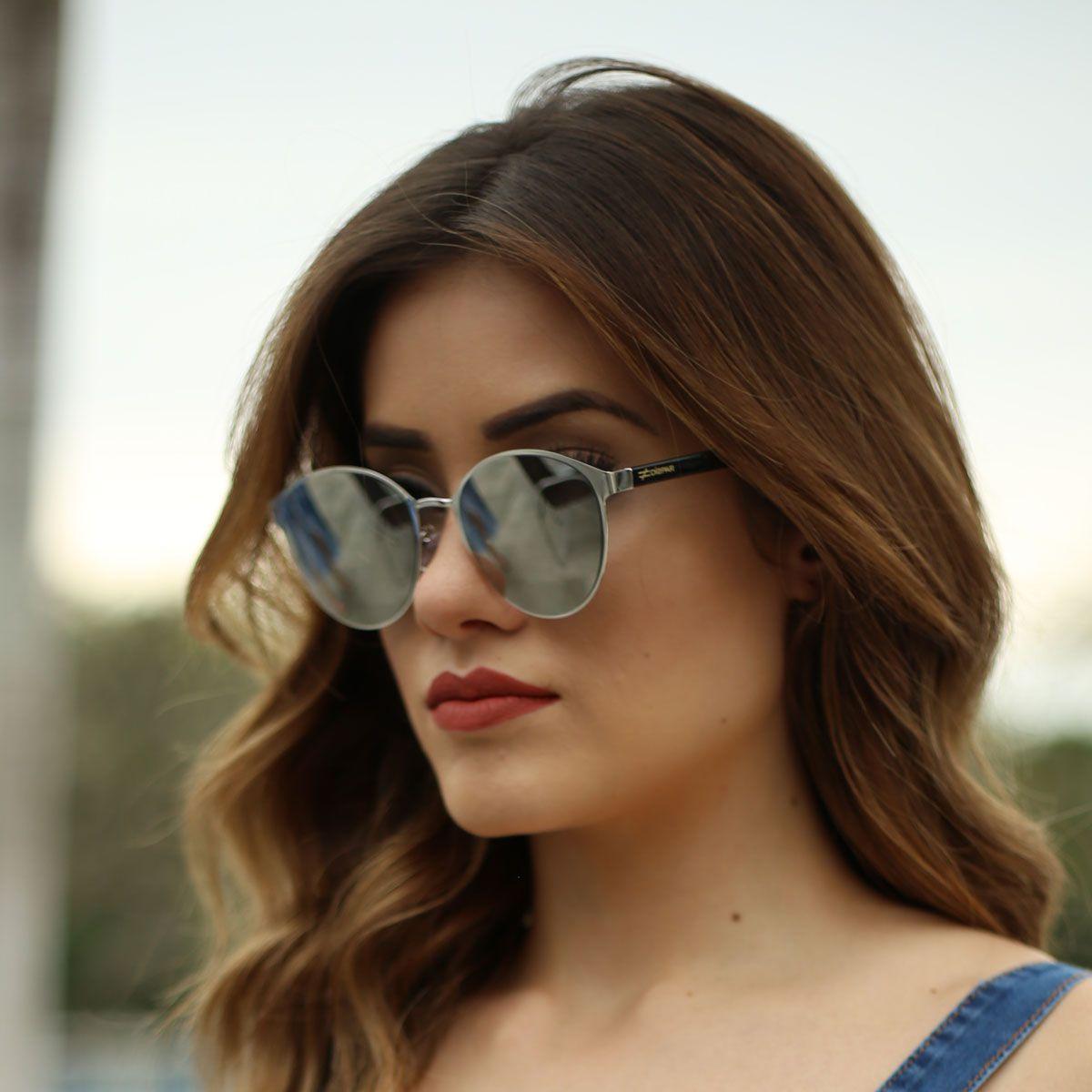 Óculos De Sol Díspar D1845 - Prata