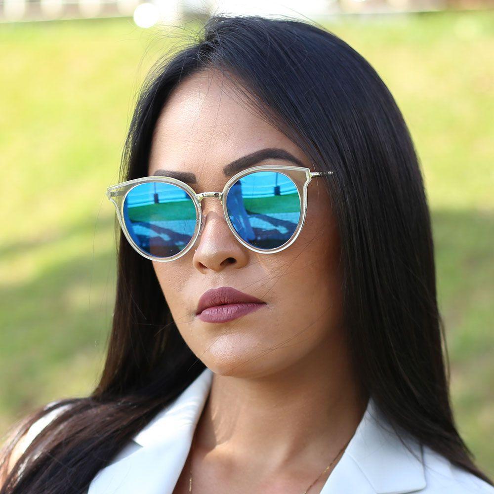 Óculos De Sol Díspar D1864 Azul