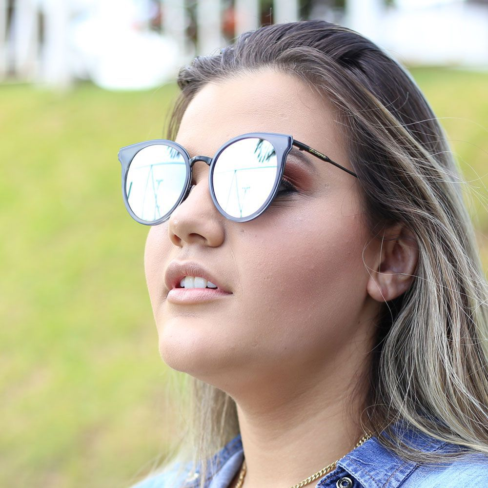 Óculos De Sol Díspar D1864 Prata