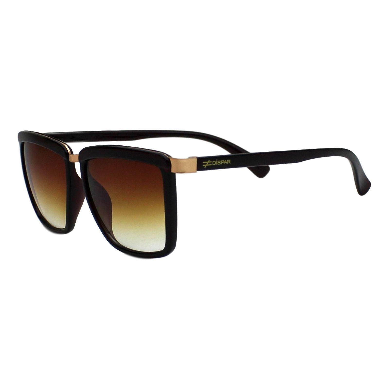 07c903376010a Óculos De Sol Díspar D1900 Marrom