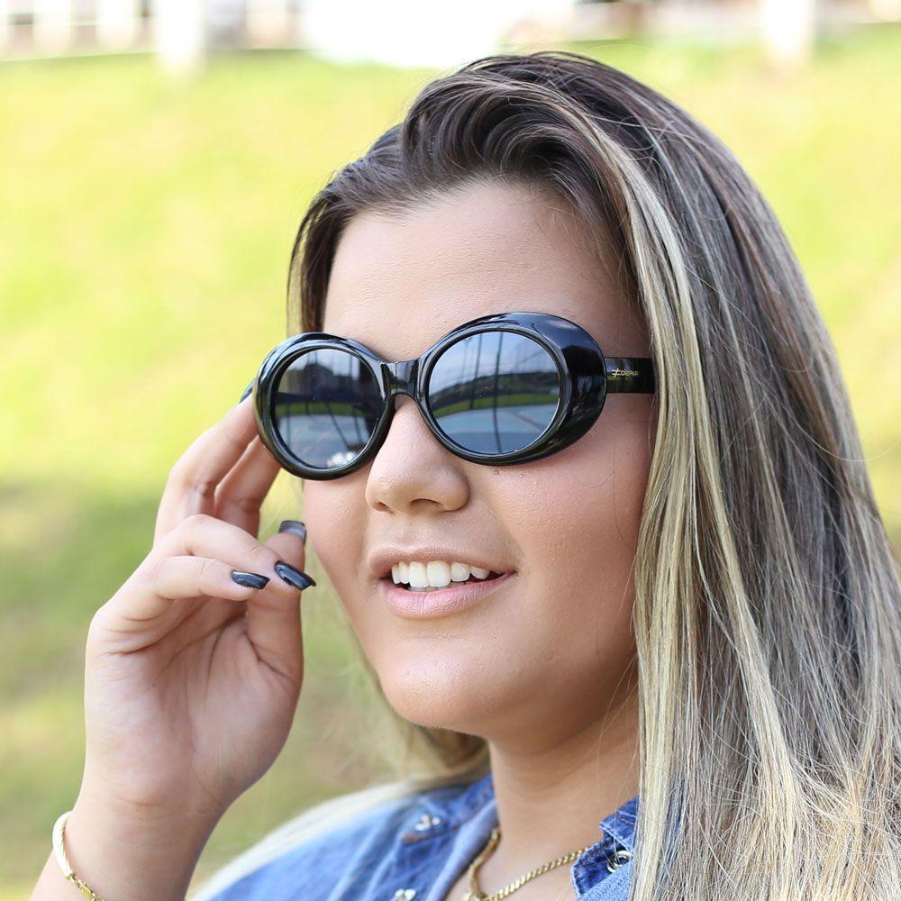 Óculos De Sol Díspar D1940 Mini - Preto