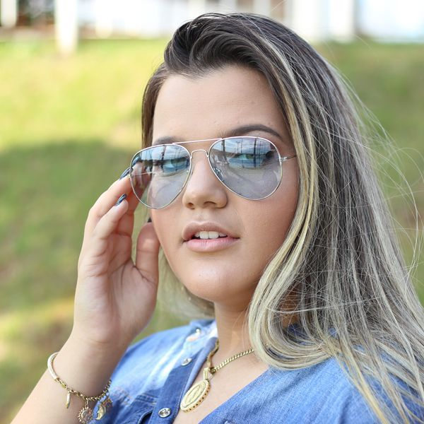 Óculos De Sol Díspar D1970 Azul