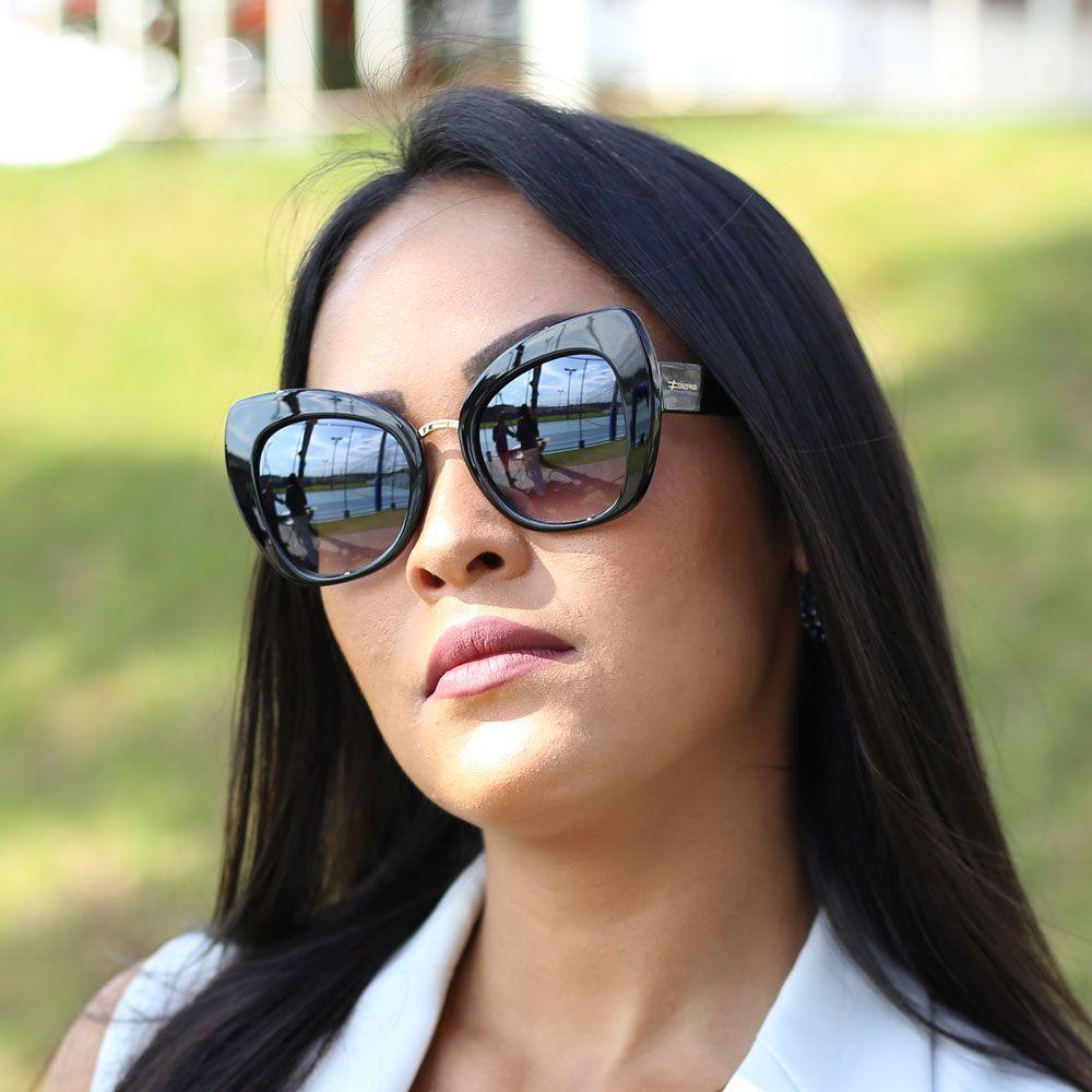 Óculos de Sol Díspar D1980 - Preto