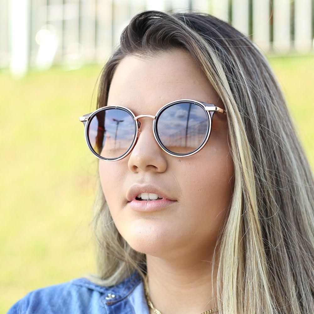 Óculos De Sol Díspar D1986 - Marrom