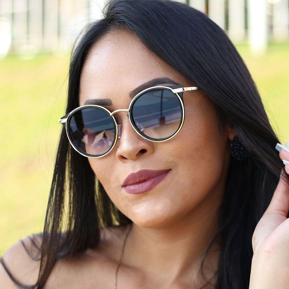 Óculos De Sol Díspar D1986 - Preto