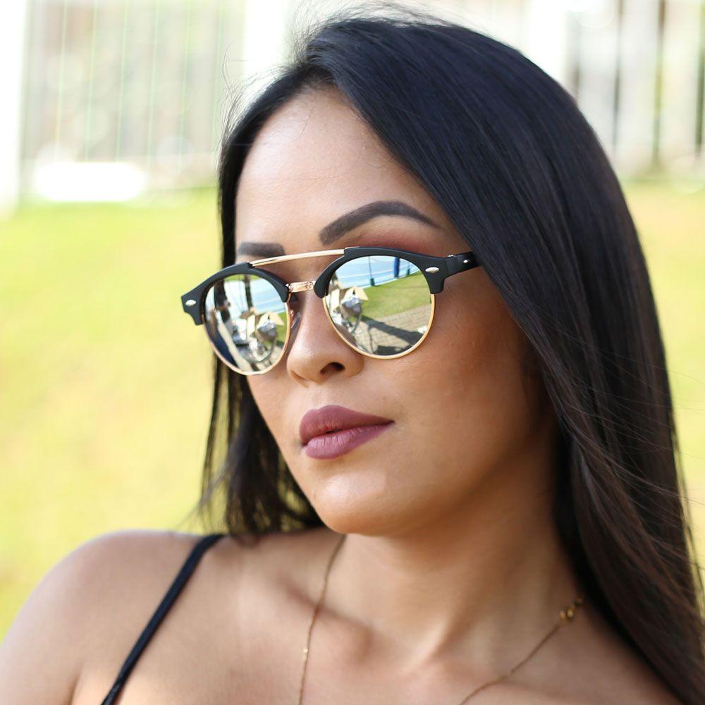 Óculos De Sol Díspar D1990 - Prata
