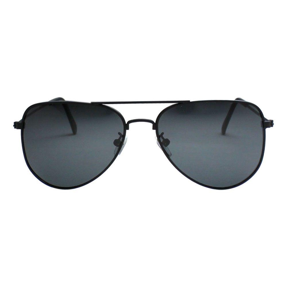 Óculos De Sol Díspar D2071 Lentes Polarizadas Preto Fosco