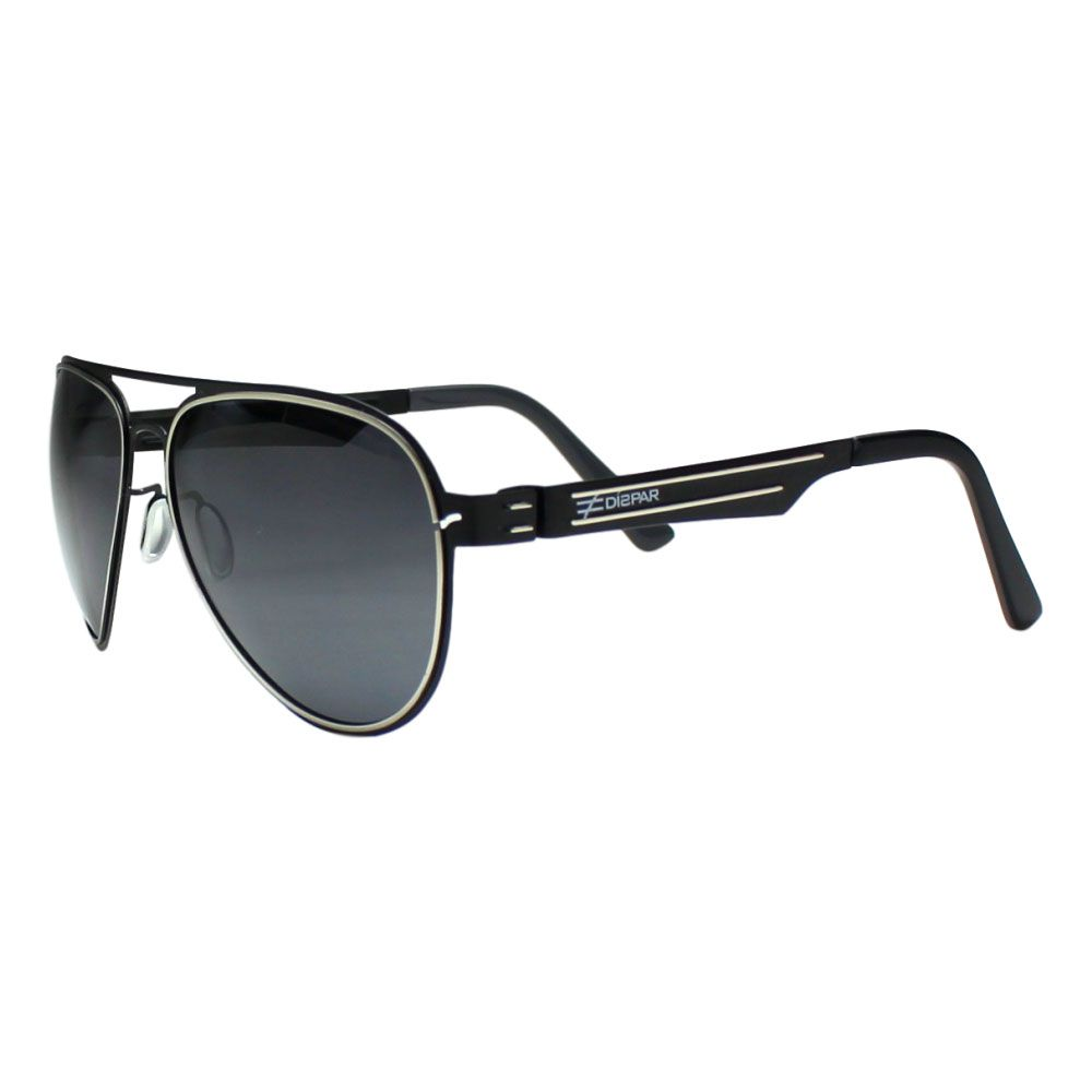 Óculos De Sol Díspar D2084 Aviador - Preto