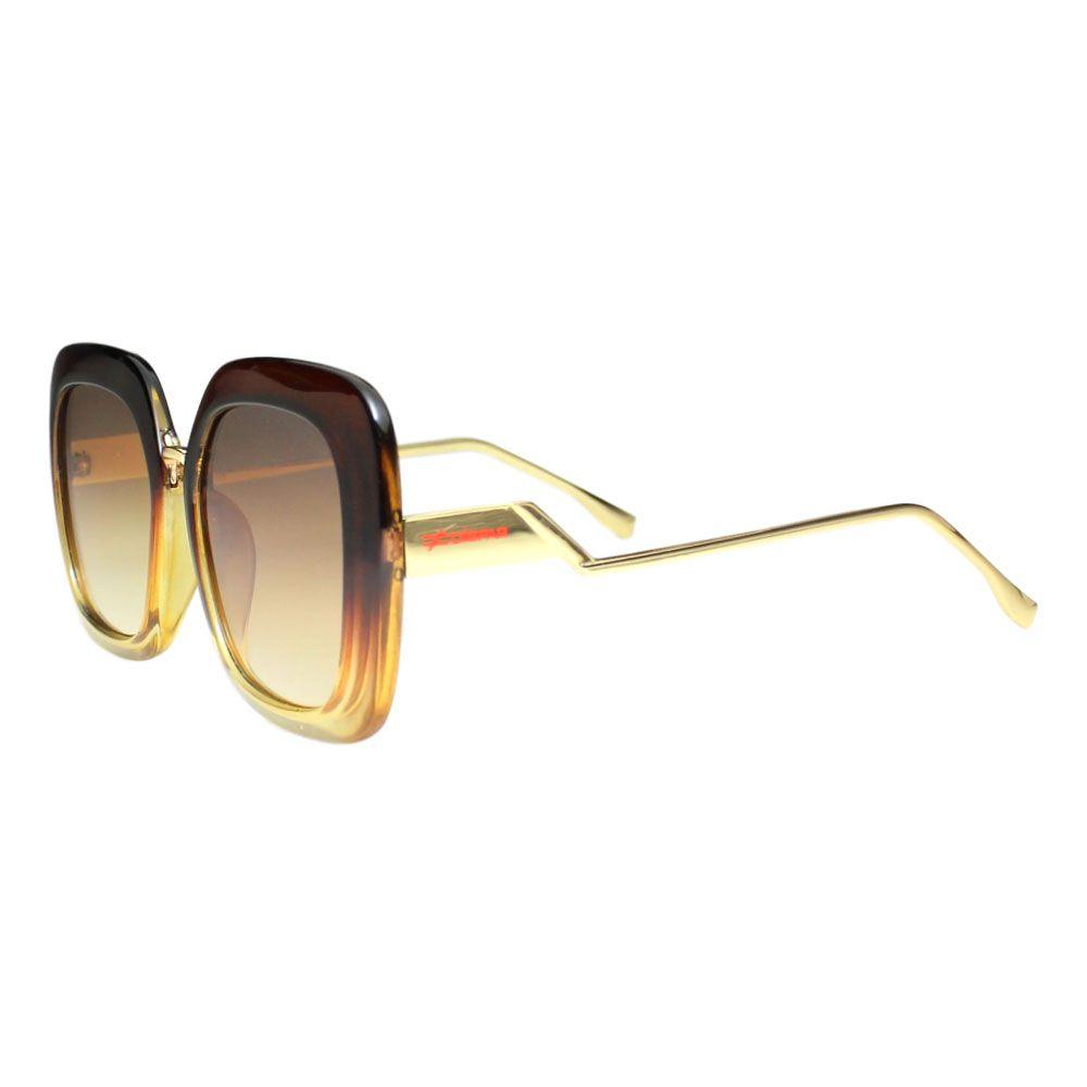 Óculos De Sol Díspar D2099 - Marrom