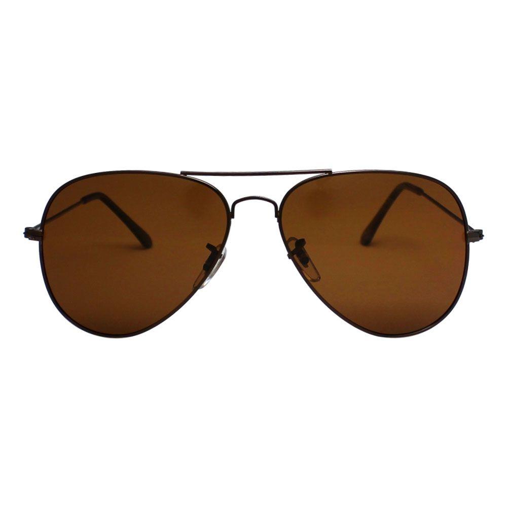 Óculos De Sol Díspar D2115 Aviador - Ouro Velho