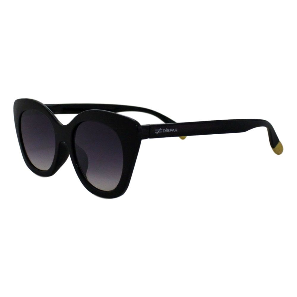 Óculos De Sol Díspar D2118 Gatinho - Preto