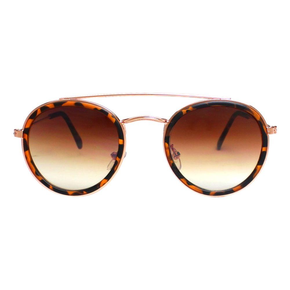 Óculos De Sol Díspar D2119 Redondo - Demi