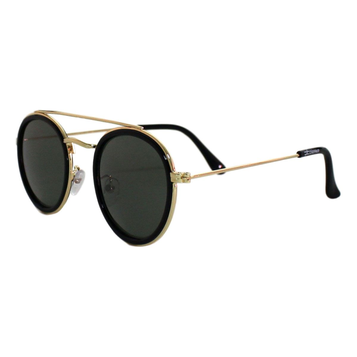 Óculos De Sol Díspar D2119 Redondo - Preto