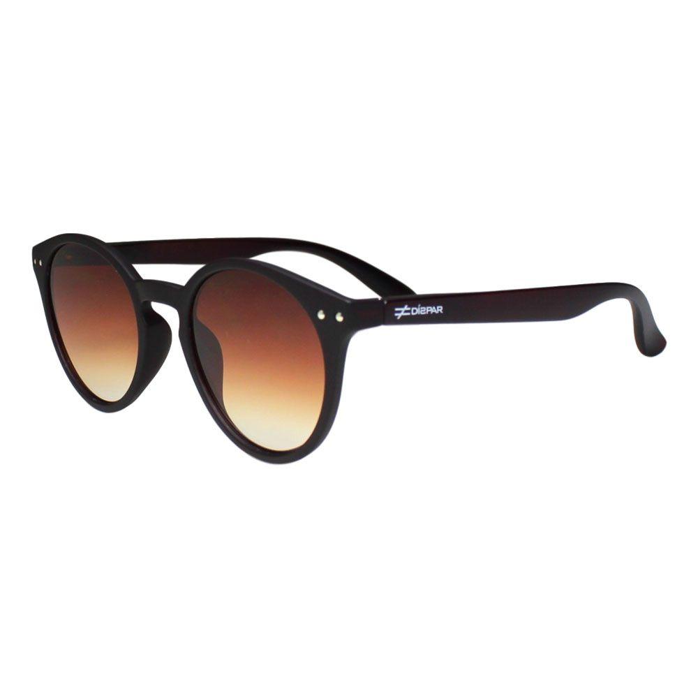 Óculos De Sol Díspar D2121 - Marrom Fosco