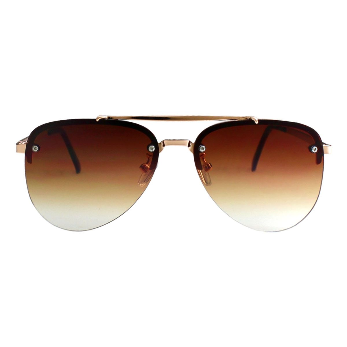 Óculos De Sol Díspar D2214 Aviador - Dourado