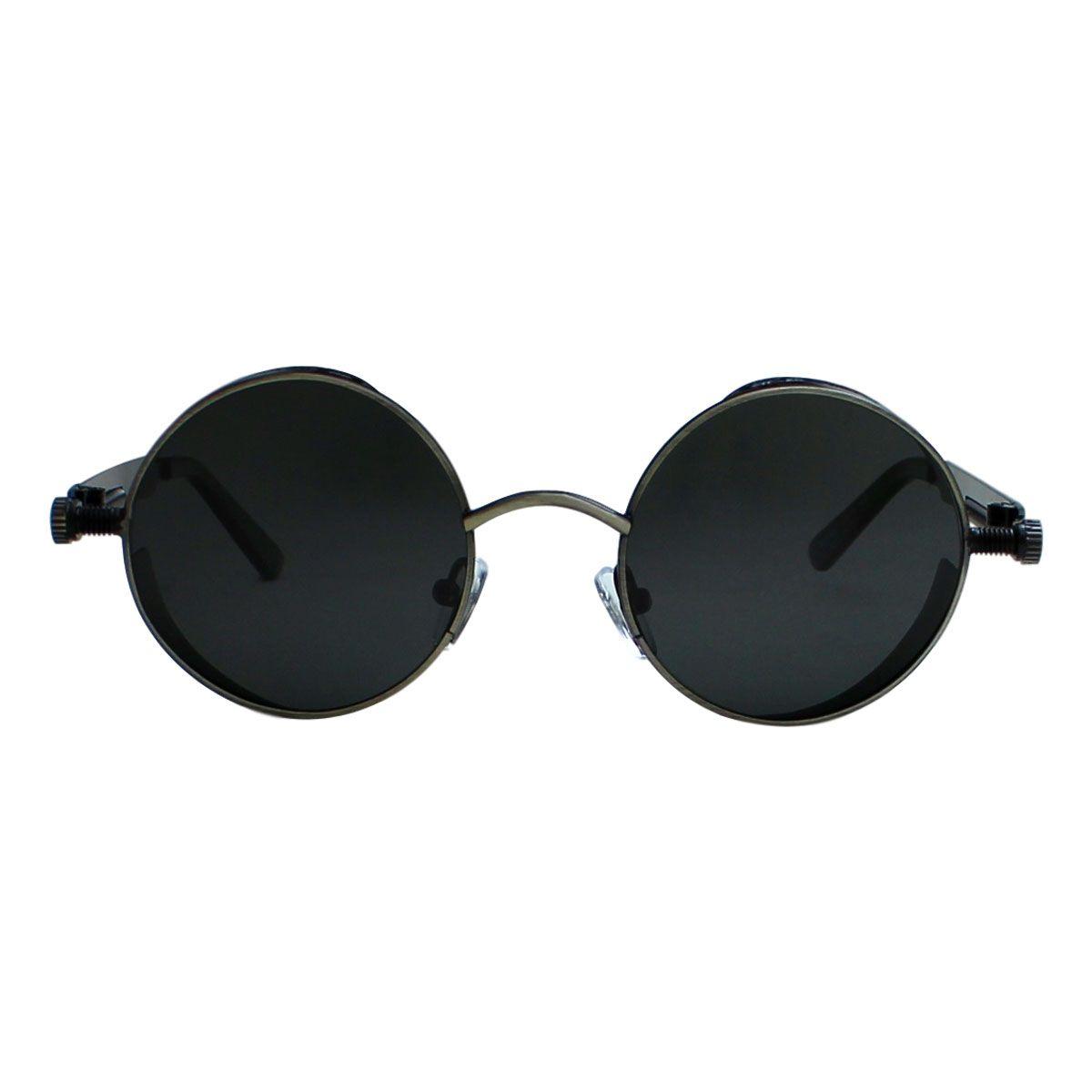 Óculos de Sol Díspar D2229 Redondo Chumbo