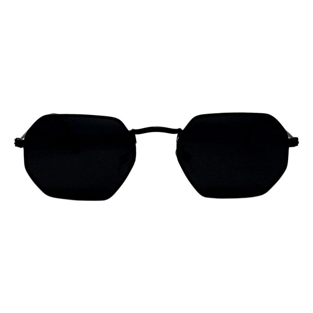 Óculos De Sol Díspar D2264 Octagonal - Preto