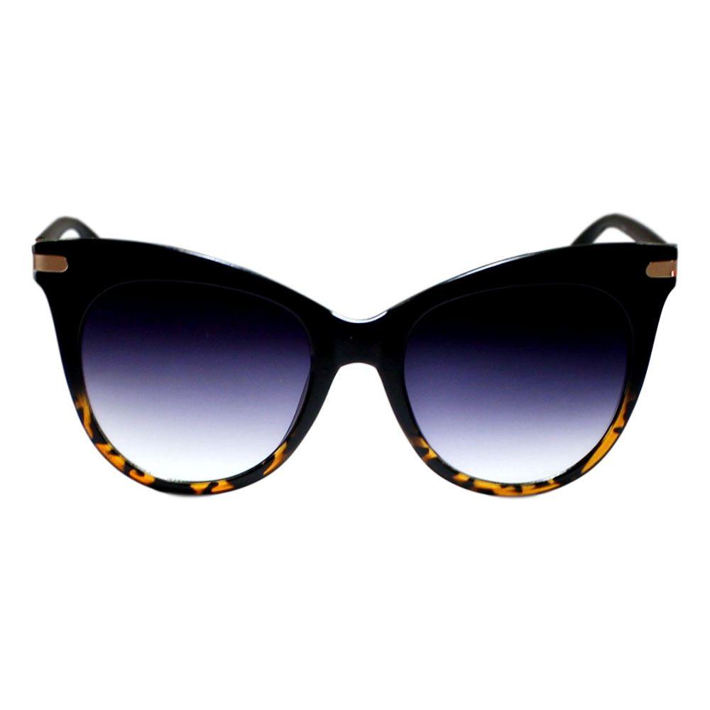 Óculos De Sol Díspar D2271 - Preto/Tartaruga