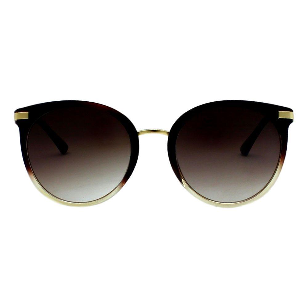 Óculos De Sol Díspar D2275 Borboleta - Marrom