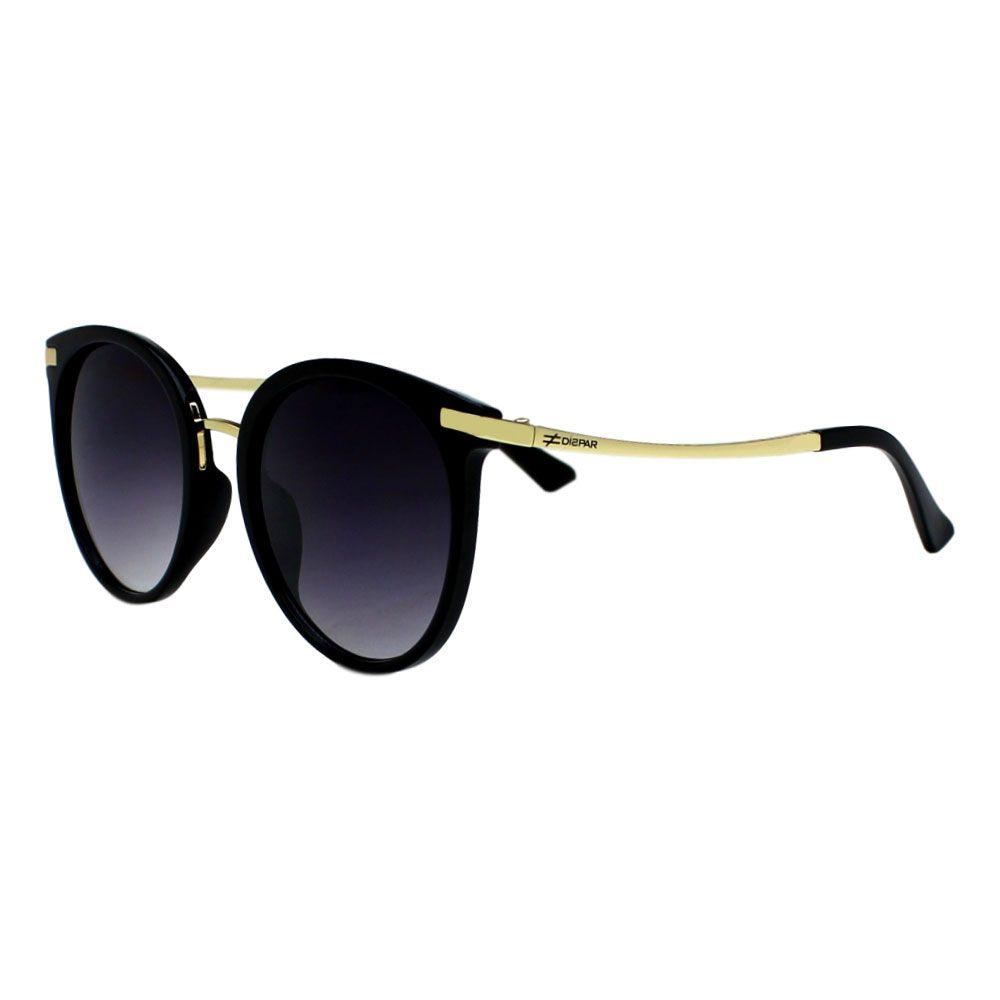 Óculos De Sol Díspar D2275 Borboleta - Preto