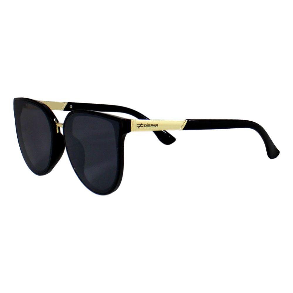 Óculos De Sol Díspar D2281 Borboleta - Preto
