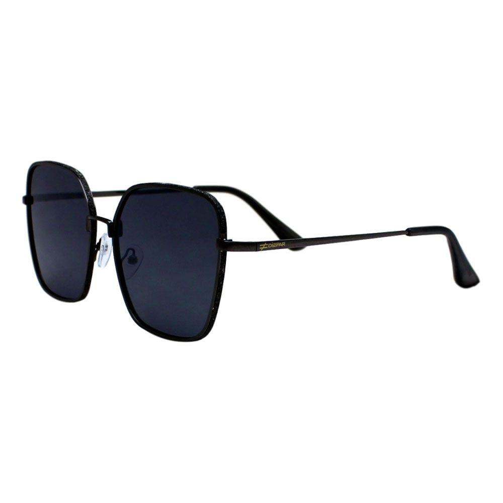 Óculos De Sol Díspar D2282 Quadrado Glitter - Chumbo