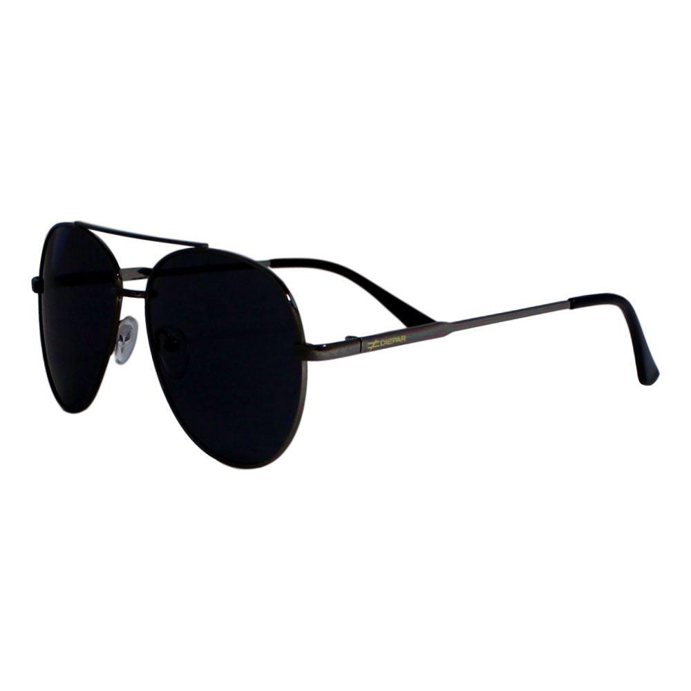 Óculos De Sol Díspar D2285 Aviador - Chumbo