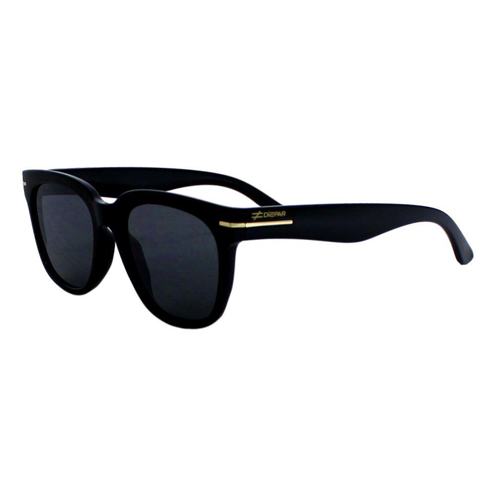 Óculos De Sol Díspar D2287 Lentes Flat - Preto