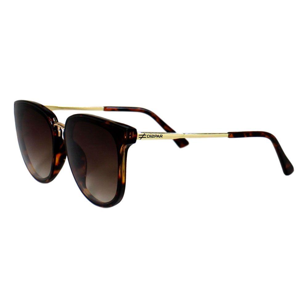 Óculos De Sol Díspar D2291 Borboleta - Tartaruga