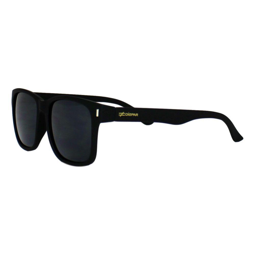 Óculos De Sol Díspar D2292 Quadrado - Preto Fosco