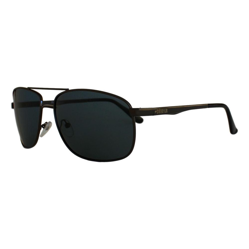 Óculos De Sol Díspar D2313 Retangular Lentes Polarizadas - Chumbo