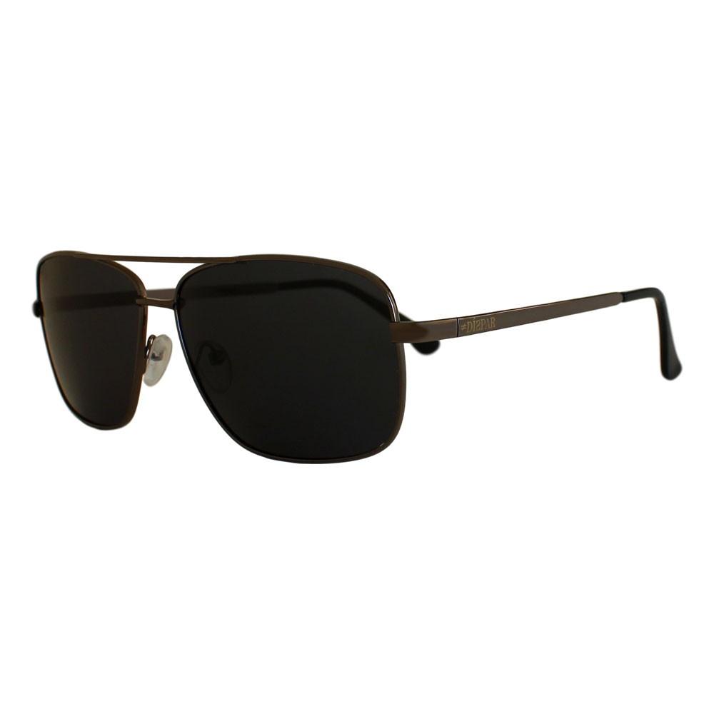 Óculos De Sol Díspar D2314 Retangular Lentes Polarizadas - Chumbo