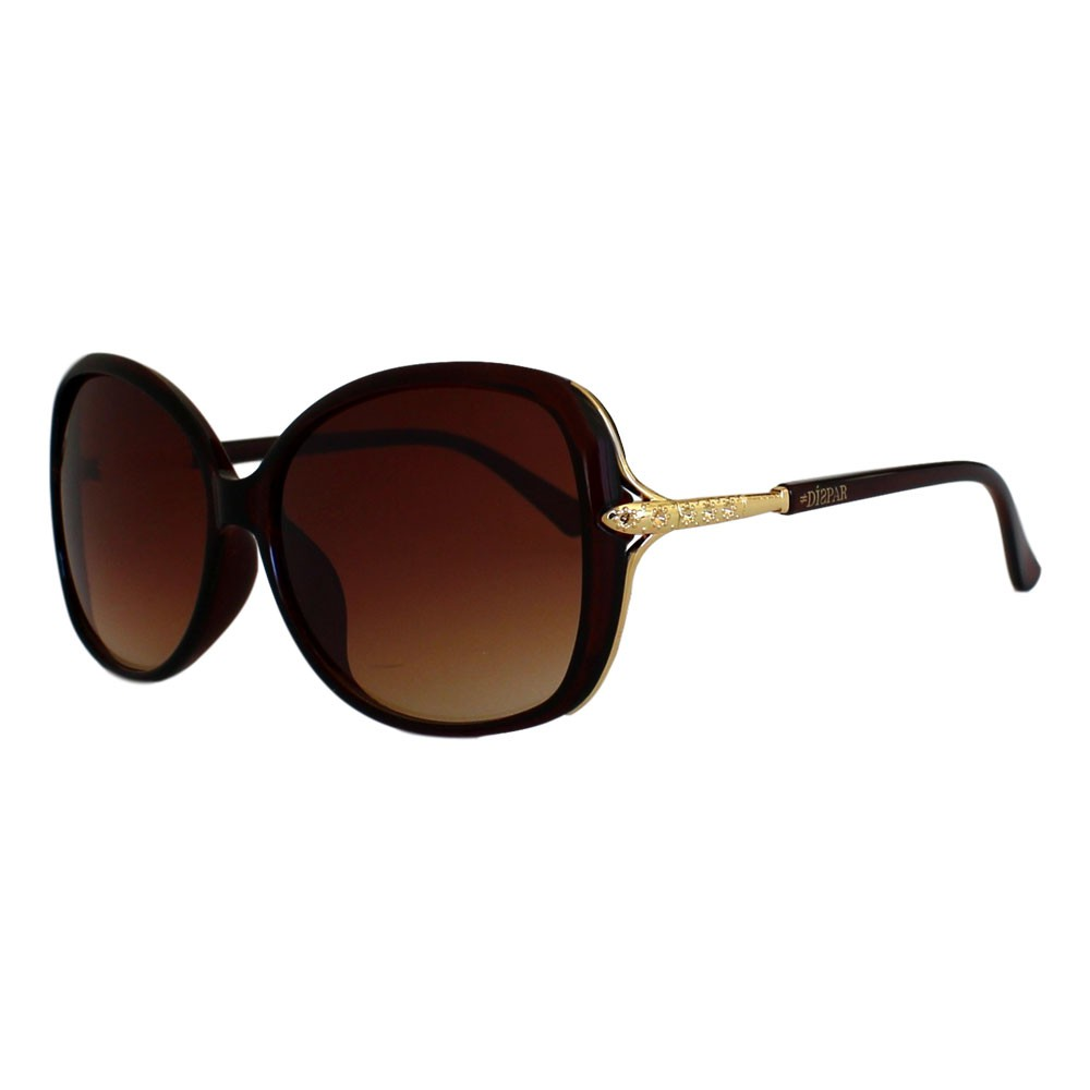 Óculos De Sol Díspar D2326 - Marrom