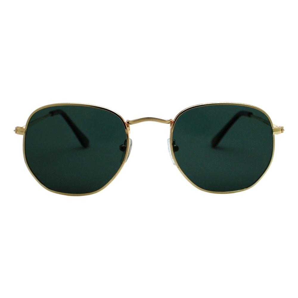 Óculos De Sol Díspar D2499 Hexagonal/Lentes Polarizadas - Dourado/G-15