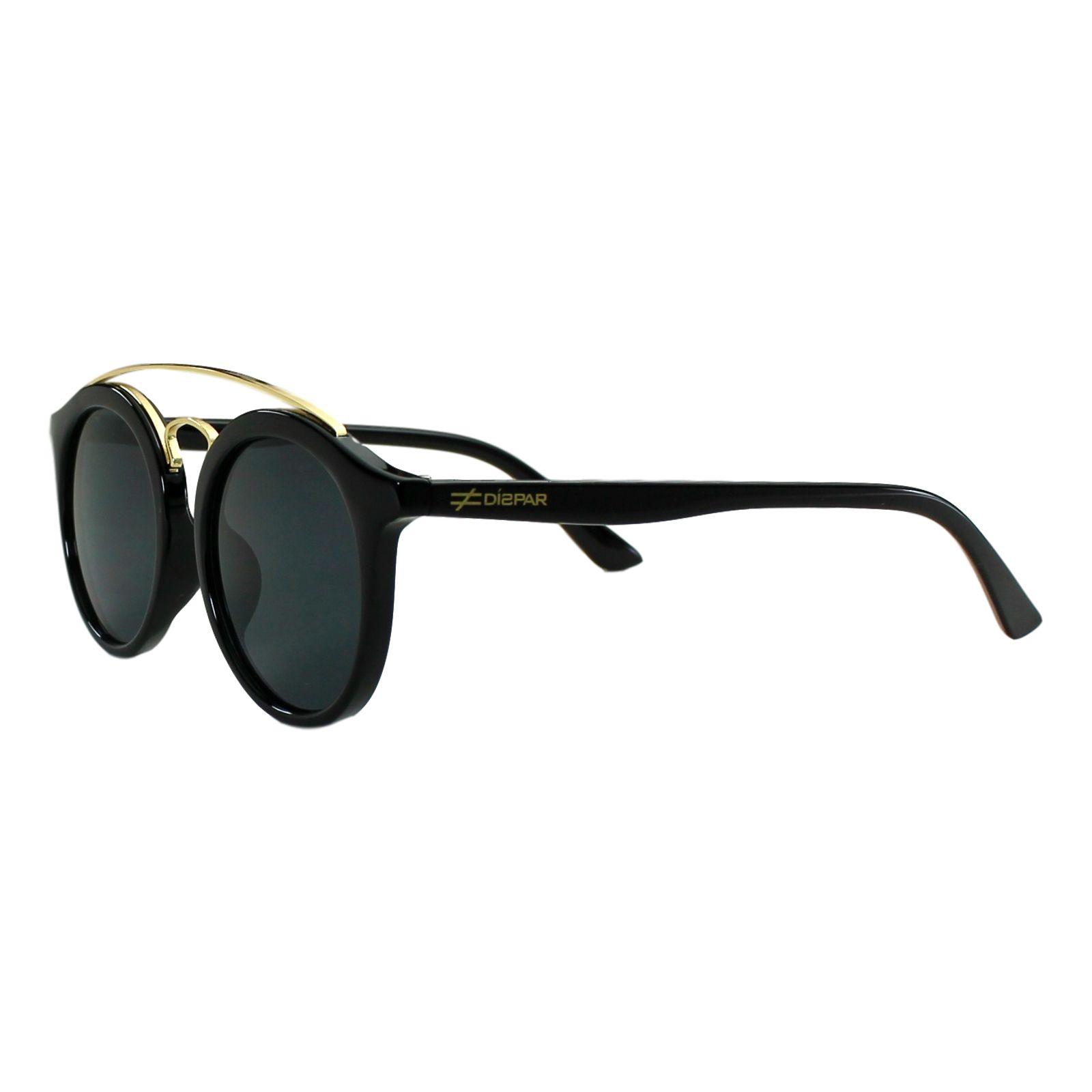 Óculos de Sol Díspar ID1961 Infantil - 9 a 12 anos - Preto