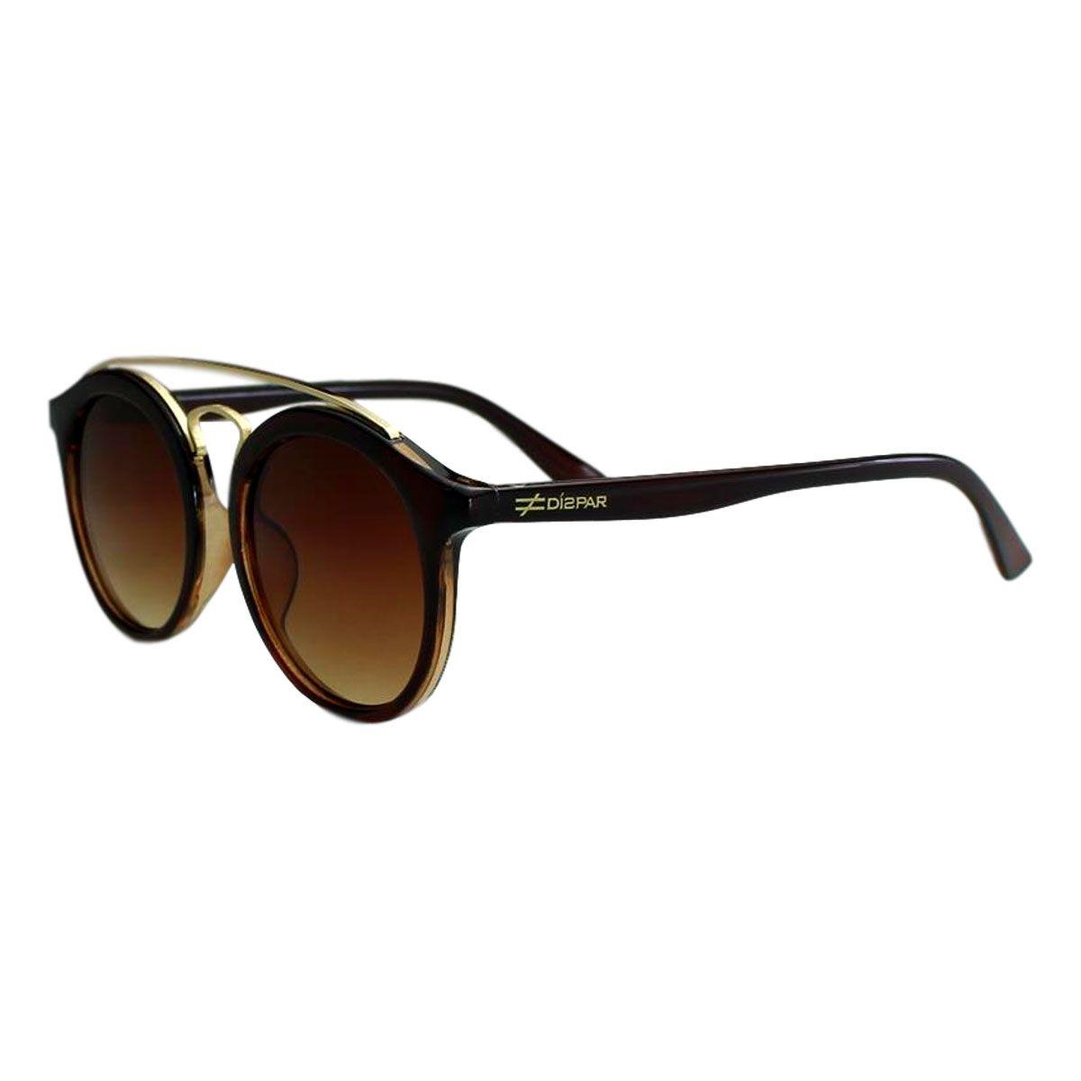 56961d096fc86 Óculos de Sol Díspar ID1961 Infantil - Marrom
