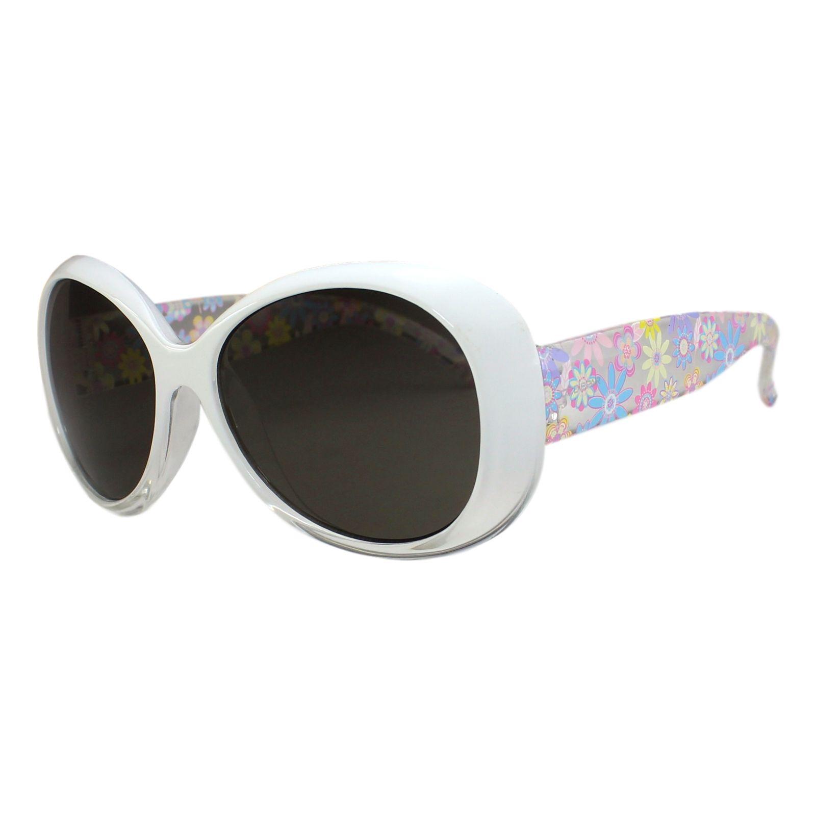Óculos de Sol Díspar ID1738 infantil - Branco