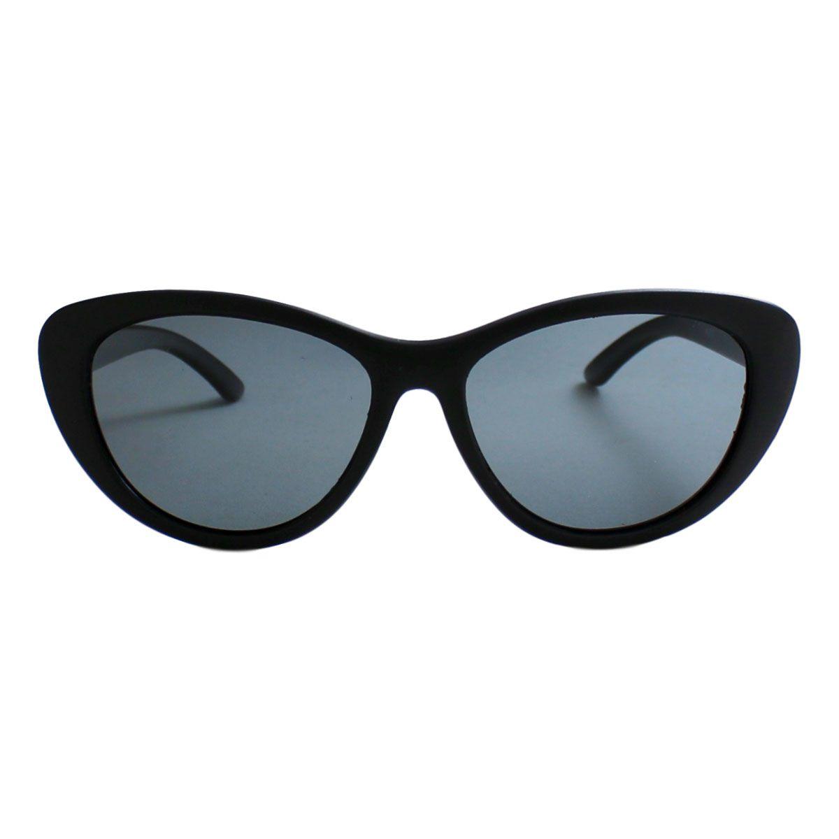 Óculos De Sol Díspar Infantil ID2039 Gatinho Flexível Idade 9 a 12 anos - Preto